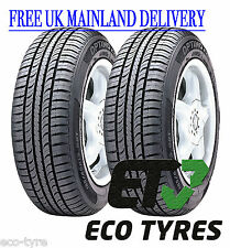 2X Tyres 165 80 R15 87T Hankook Optimo K715 F E 70dB