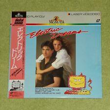 ELECTRIC DREAMS [Lenny Von Dohlen] - RARE 1986 JAPAN LASERDISC + OBI (G98F5540)