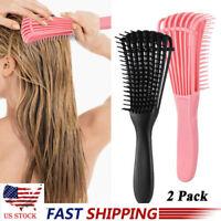 Hair Brush Scalp Massage Comb Detangling Brush Curly Hair Comb Hair Hairbrush