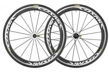 Mavic Cosmic Pro 2017 Carbon Clincher Wheelset with Tyres White decals