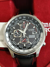 Citizen Eco-Drive Red Arrows Chronograph **CA0080-03E** Black Strap Men's Watch