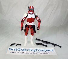 """Star Wars Black Series 6"""" Inch Clone Trooper Commander Fox Loose Figure COMPLETE"""