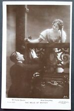 Old  Real Photo Musical Comedy Star Postcard - Mr Farren Soutar  & Miss Edna May