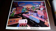 "Stephen Morath ""Where the Wild West Went"" 1988 Print 27.5x31.5"""