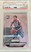 2015-16 Karl-Anthony Towns Panini Prizm #328 Rookie Card RC PSA 8.5
