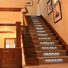 Wireless Vibration Sensor 6 Bright LED Powered Wall Night Cabinet Stair Light