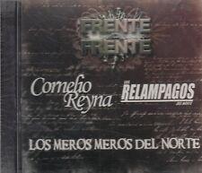 Cornelio Reyna y Los Relampagos Del Norte Frente A Frente CD New Nuevo Sealed