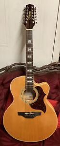 Takamine EG523SC JUMBO electro acoustic guitar 12 String