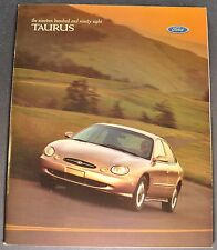 1998 Ford Taurus Catalog Sales Brochure SE LX SHO Wagon Excellent Original 98