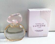L'Occitane Terre de Lumiere L'Eau EDT mini Perfume, 5ml, Brand New in Box!