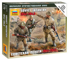 Zvezda 1/72 figuras Infantería Soviética 1941 - 1943 Z6103