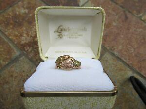 10K Landstrom's Black Hills Gold Ring, 3.9 gtw, S= 5 3/4