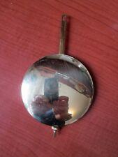 """Hermle Brass Wall, Shelf Clock Pendulum NEW 4-3/4"""" Length  (179M)"""