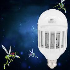 US E27 2 in 1 15W Bug Zapper LED Bulb 85V-265V Mosquito Flying Killer Light Bulb