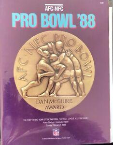1988  AFC-NFC Pro Bowl Game Programs