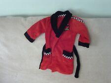 Baby Boys 18-24 months - Red & Black Fleece Dressing Gown - Disney Cars