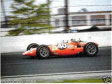 PARNELLI JONES STP TURBINE CAR INDY INDIANAPOLIS 500 1967 PHOTOGRAPH PRATT WHITN