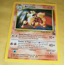 POKEMON BLACK STAR PROMO CARD - #6 ARCANINE NM