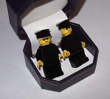 Chauffeur Or Bodyguard Lego Cufflinks Beautiful Jewelry Box- Wedding Best Man
