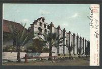1904 SAN GABRIEL MISSION CALIFORNIA UDB UNDIVIDED BACK POSTCARD LA Station C