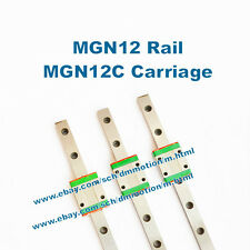 freeshipping air mail MR12 600mm MGN12 600mm 12mm miniature rail MGN12C carriage