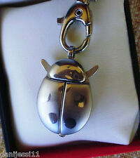 Reloj llavero Quartz en forma de mariquita