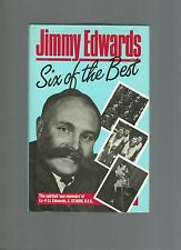 RARE/SIGNED BY AUTHOR & DFC MEDAL WINNER BBC COMEDIAN JIMMY EDWARDS/HB/RAF/ARMY