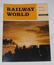 RAILWAY WORLD APRIL 1969 - MARCH 7 - V DAY FOR LONDON TRANSPORT