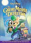 Adventures of the Great Mouse Detective (DVD 2002) sealed new Disney animation