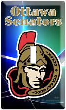 NEW OTTAWA SENATORS NHL HOCKEY SINGLE LIGHT SWITCH PLATE GAME TV ROOM DECORATION
