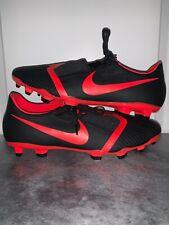New! Nike Phantom Venom Academy Fg Soccer Cleats Ao0566 - 060 Black Red Size 11