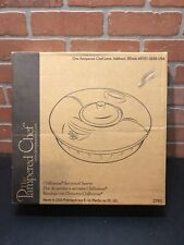 The pampered Chef Chillzanne round section server, new in opened box