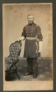 Civil War CDV Colonel Edwin Upton 25th Massachusetts Vols