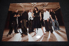 LACUNA COIL signed 8x11 inch autographed Photo SCABBIA FERRO InPerson in Germany