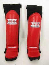 Pinnacle Performance Professional MMA Shin Pads Guards s/m Mint Condition
