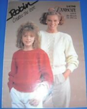 Robin Womens Sweater Knitting Pattern 14790