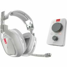 Astro A40 TR Headset with MixAmp Pro TR for PC and MAC - White