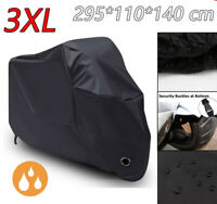 3XL Black Waterproof  Motorcycle Cover for Honda Goldwing GL 1100 1200 1500 1800