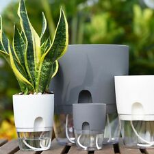 Auto Irrigate Self-Watering  Flower Pot Vase Watering Planter Lazy Planting