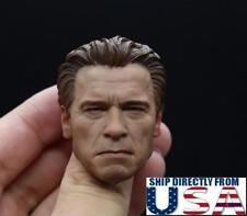 1/6 Arnold Schwarzenegger Head OLD Terminator T800 For Hot Toys PHICEN U.S.A.