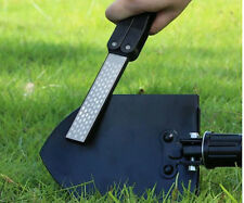 Knife Sharpener /Double-Sided Folding 400/600 Grit Diamond Pocket Hunting Tool