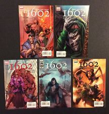 Marvel 1602: Fantastic Four #1 - 5 Comic Books Complete Peter David 2006 F+-Vf