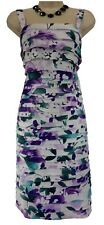 18W 2X SEXY Womens FLATTERING FLORAL TIERED DRESS Summer Wedding Party PLUS SIZE