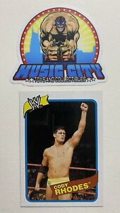 Cody Rhodes 2007 Topps Heritage WWE Rookie Card RC PSA AEW