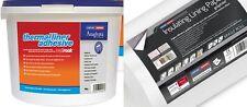 4 x 4 mm Erfurt graphite doublure isolante papier + 10kg thermique liner adhésif