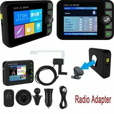 Function 2.4'' Color Screen Wireless In Car DAB Digital Radio Adapter Bluetooth