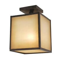 $237 World Imports 9068 Indoor Outdoor 1-Light Ceiling Mount Semi Flush Fixture