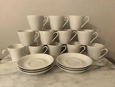 Vintage Fairwood Tea Cups (12) Saucers (7) Schonwald Germany  Lot 19
