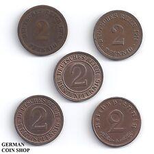 5 Pfennig In Lots Münzsammlungen Des Deutschen Kaiserreichs