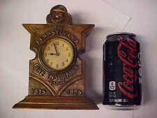 OLD CLOCK FOR THE PENNSYLVANIA FIRE INSURANCE COMPANY 1825-1925 BRONZED FINISH